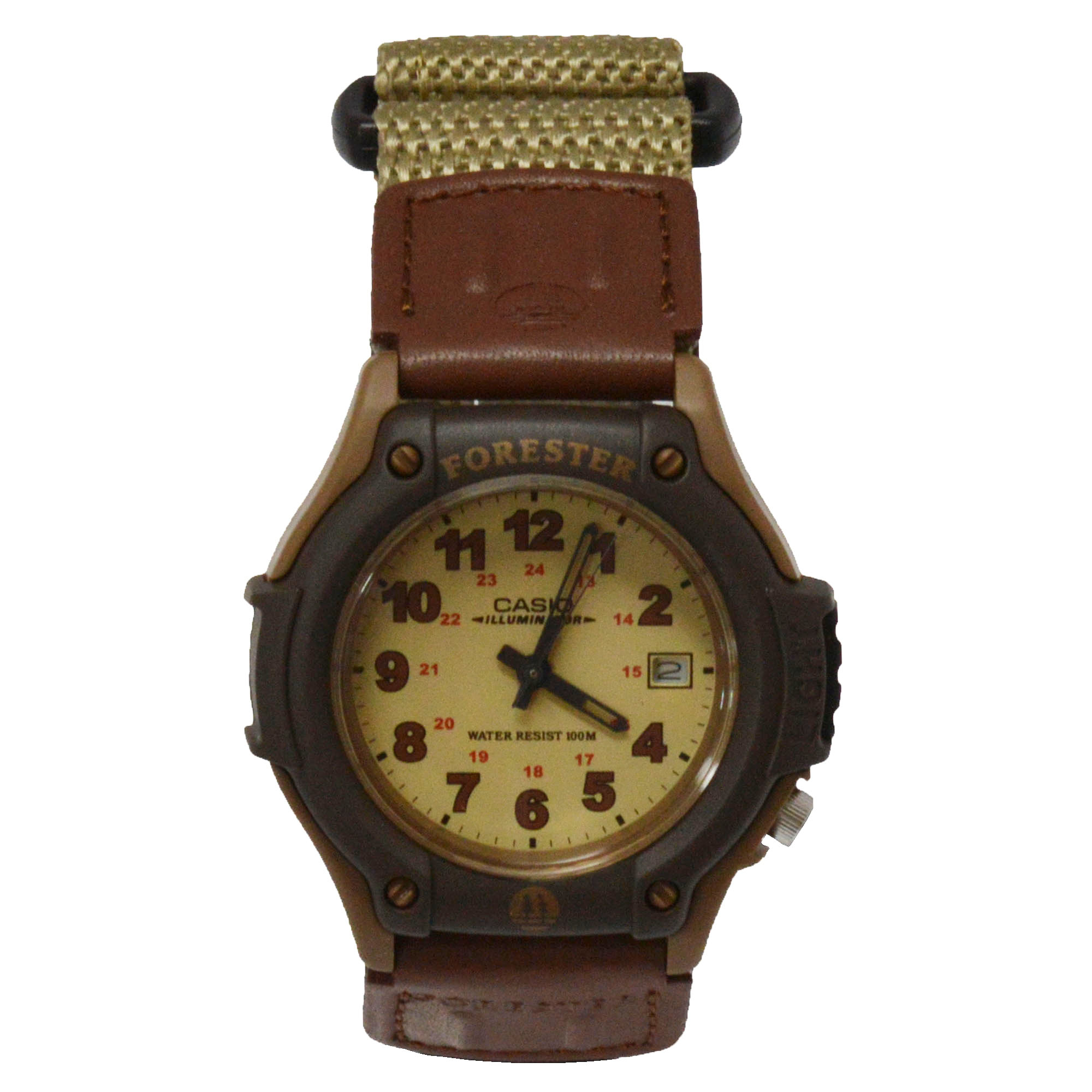 Casio Men's FT-500WVB-5BV Forester Nylon Illuminated Analog Sport Watch w/ Date at Sears.com