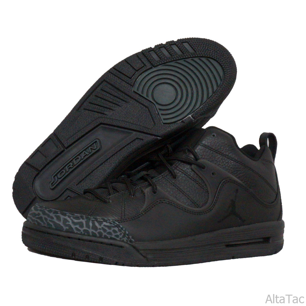 Nike Jordan Nike Air Flight TR ?97 Low Top Sneakers Basketball Shoes ? Black - 574417 at Sears.com