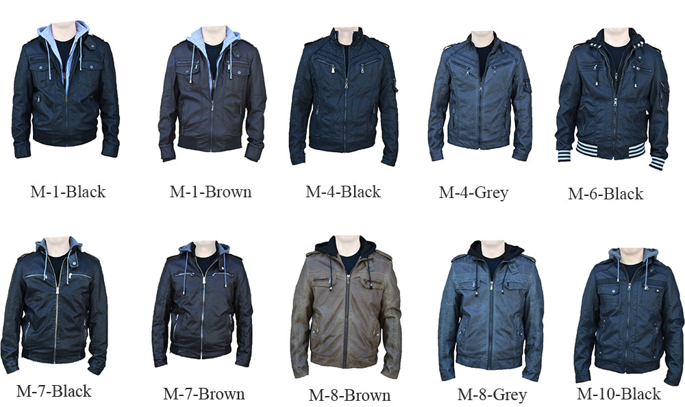 rnz premium designer men u0026 39 s faux leather jacket