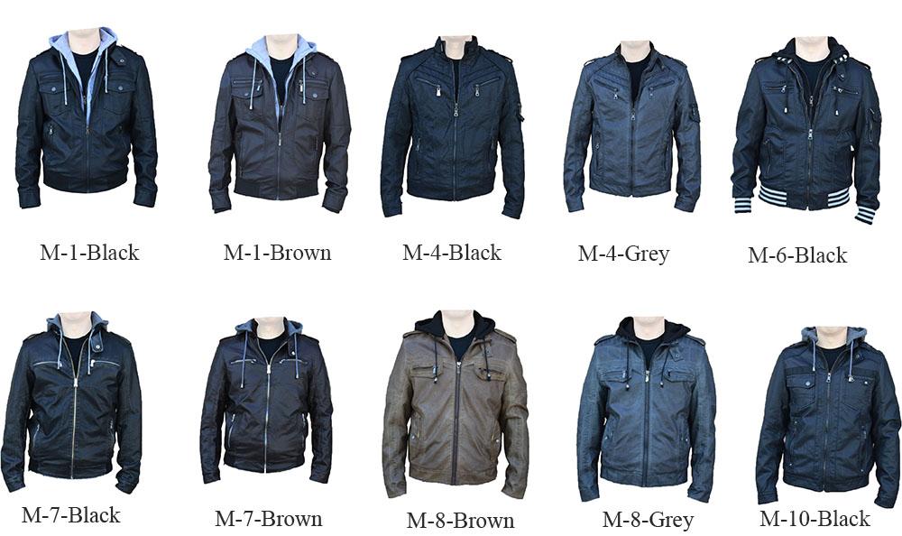 Outstanding Rnz Premium Designer Men039S Faux Leather Jacket Multiple Short Hairstyles For Black Women Fulllsitofus