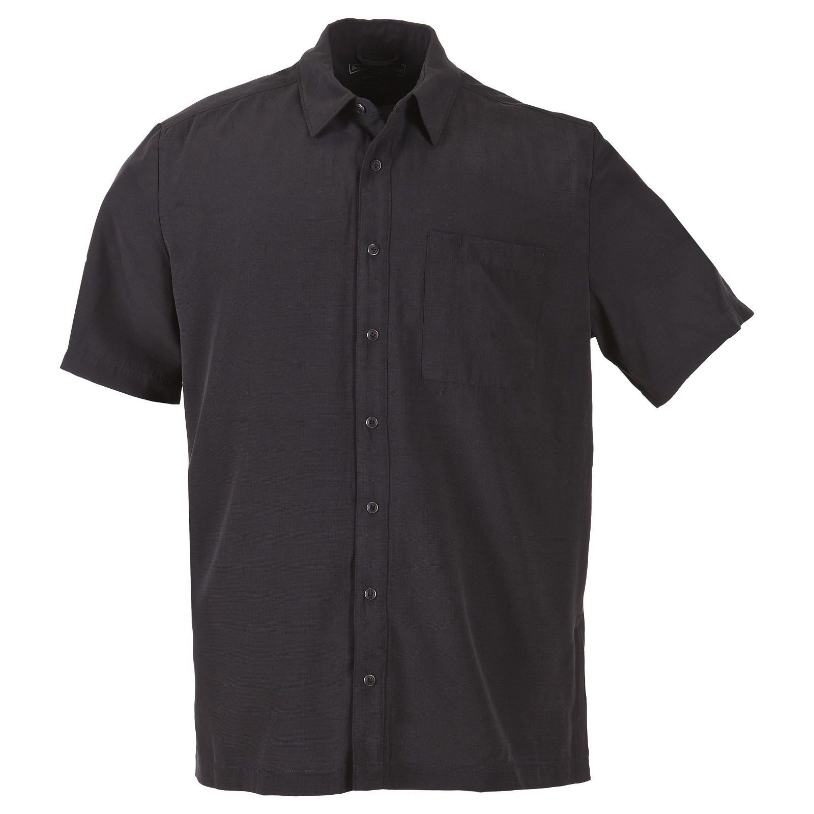 5.11 Tactical Covert Button-Up Black Short Sleeve Shirt Select - 71199