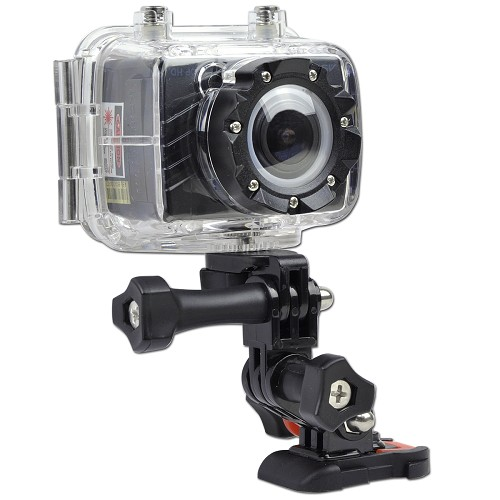 Astak ActionPro 1080p HD Camcorder, 5MP Action Camera & Side Screen at Sears.com
