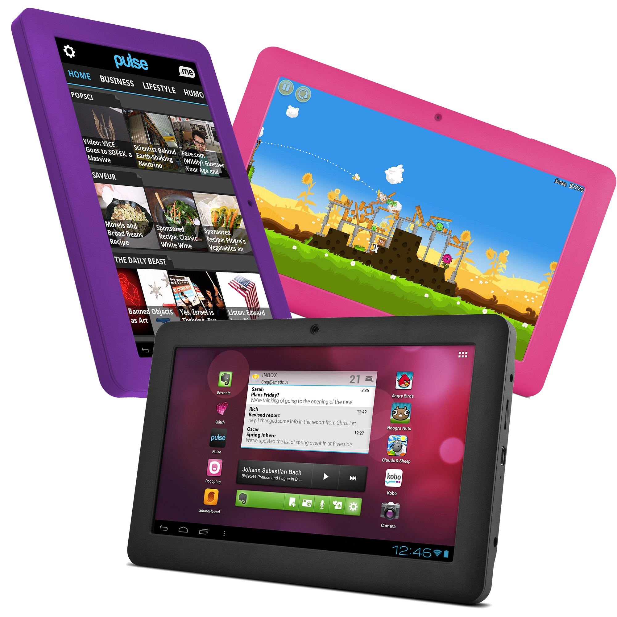"""Save 75% OFF Ematic 7"""" Pro Series Google Android 4.0 Capacitive Multi-Touch Tablet Plus Free Shipping at Ebay.com.au"""