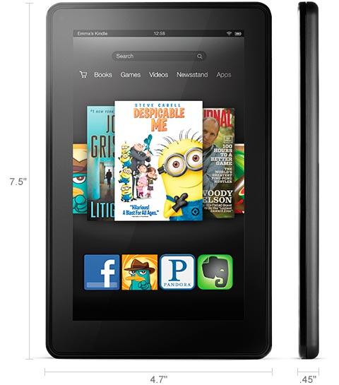 Rakuten - 8GB Amazon Kindle Fire 2nd Gen 7