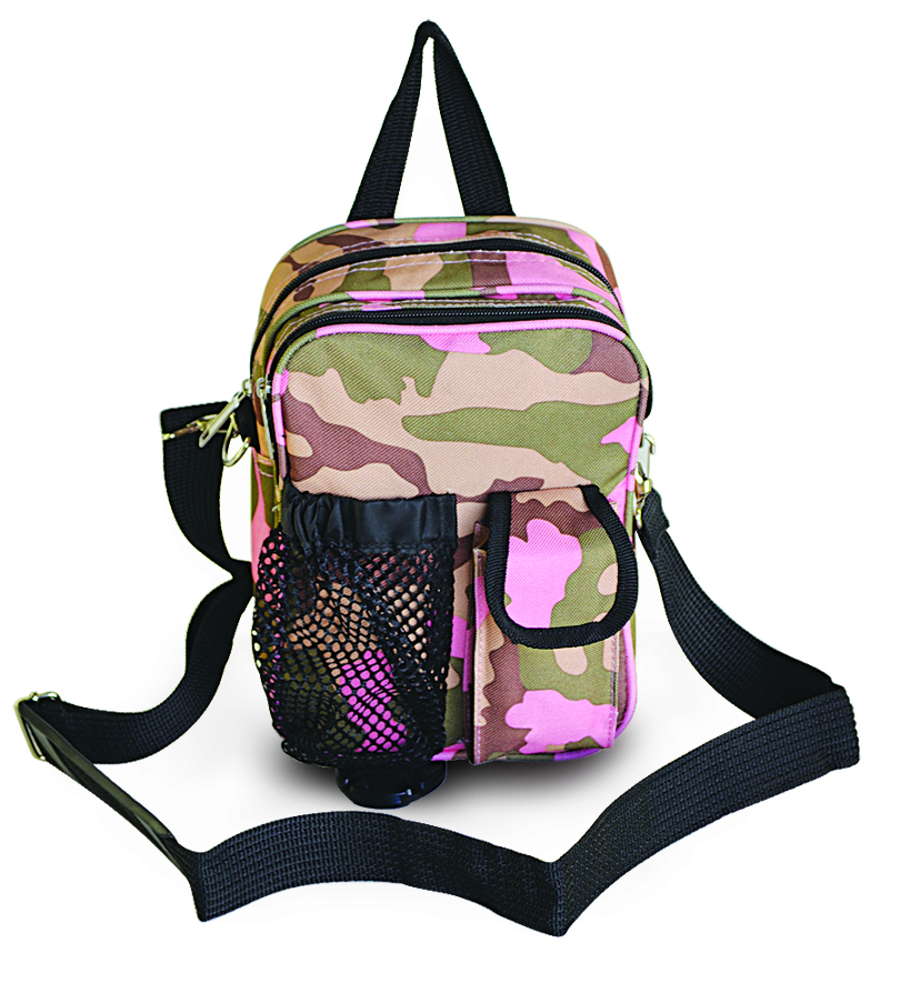 Every-Day-Carry-Sports-Messenger-Bag-Sling-Travel-Pack-Pink-Camo-or-Camo