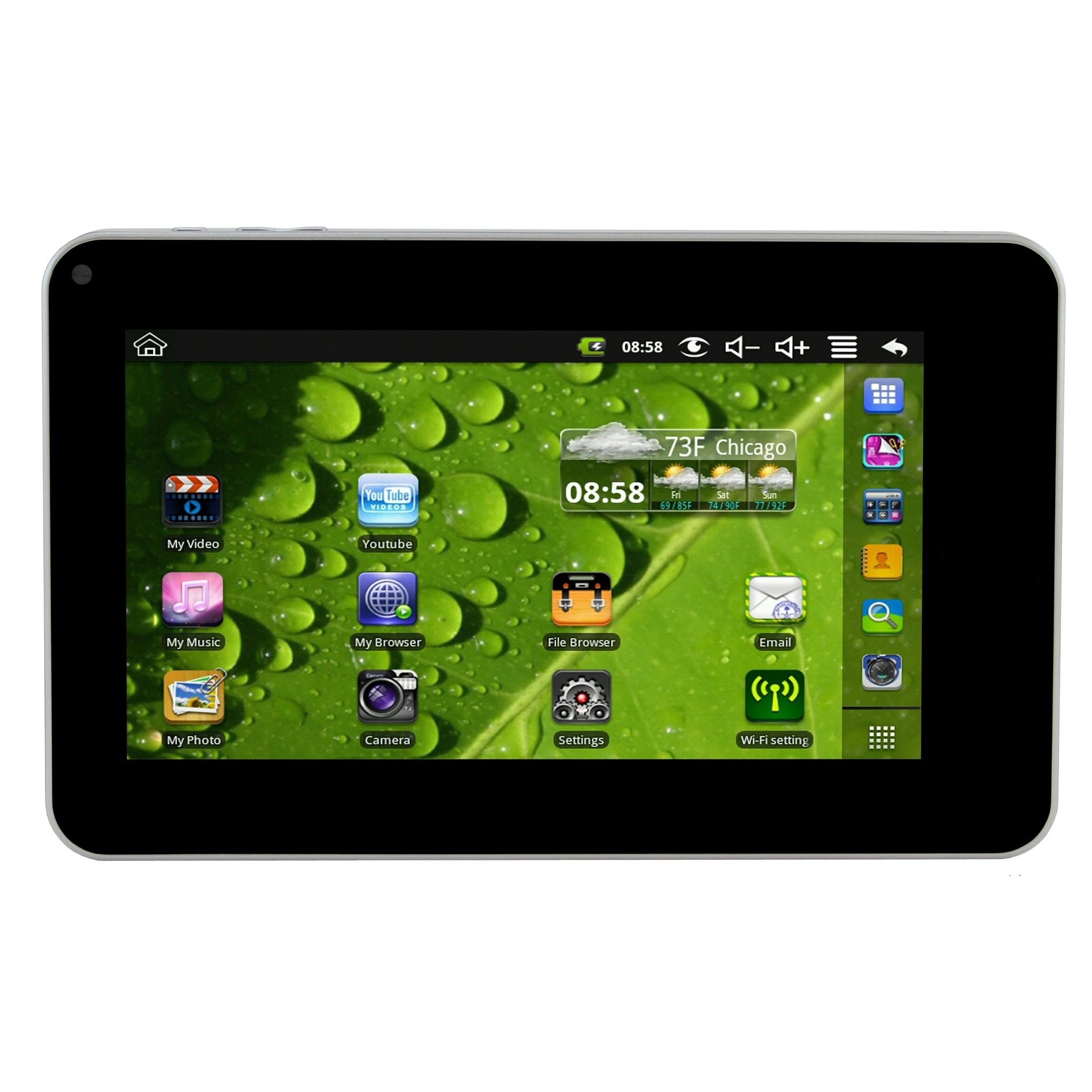 mid 9 google android 4 0 capacitive multimedia touchscreen tablet w
