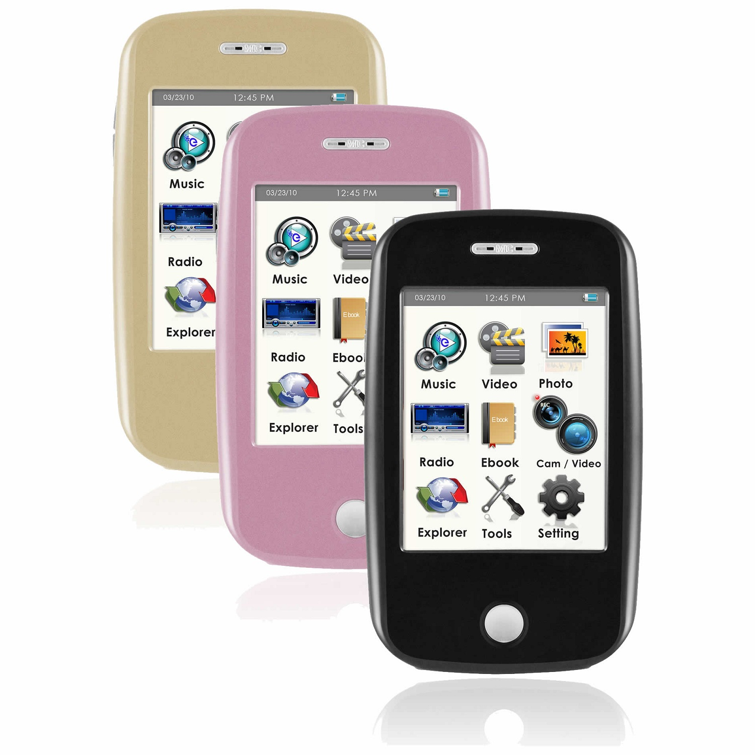 ematic e6 3 inch touch screen color mp3 video player 4gb 5mp rh homeshopping pk Ematic MP3 Player Case Ematic MP3 Player Instructions