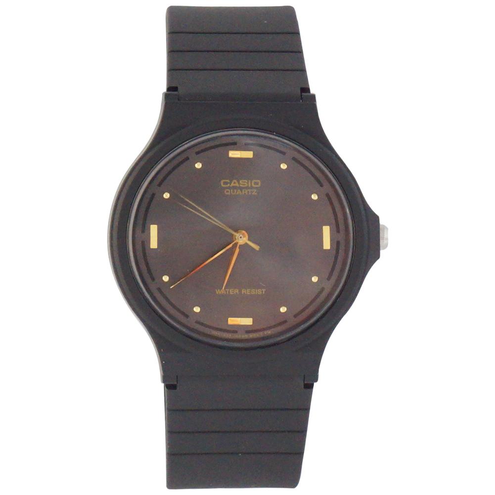 Casio Men's MQ-76-1A Resin Quartz Watch with Black Dial